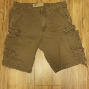 Lee Dungarees Brown Cargo Shorts 3+items20%off
